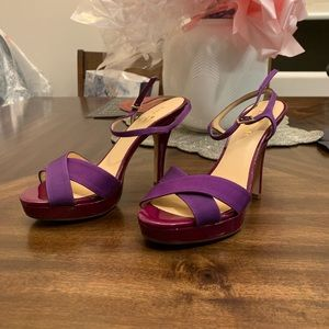 Brand new Kate Spade fashion high heels purple